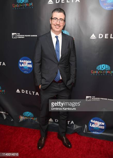 John Oliver attends the 2019 Garden Of Laughs Comedy Benefit at Madison Square Garden on April 02 2019 in New York City