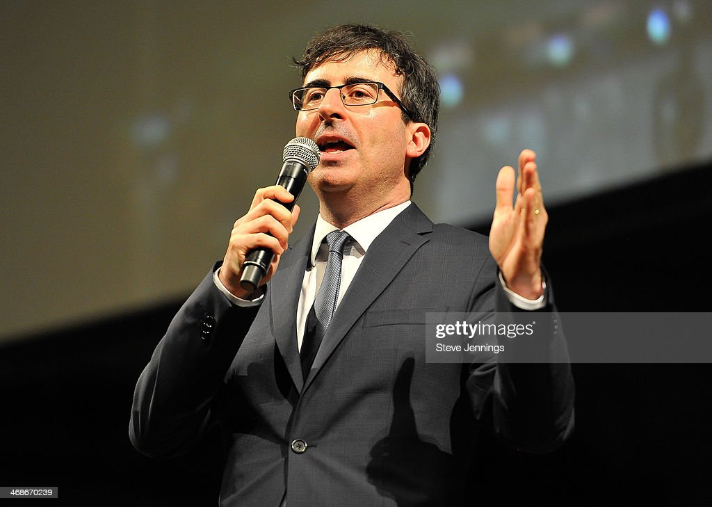 John Oliver, Master of Ceremonies at the 7th Annual Crunchies Awards at Davies Symphony Hall on February 10, 2014 in San Francisco, California.