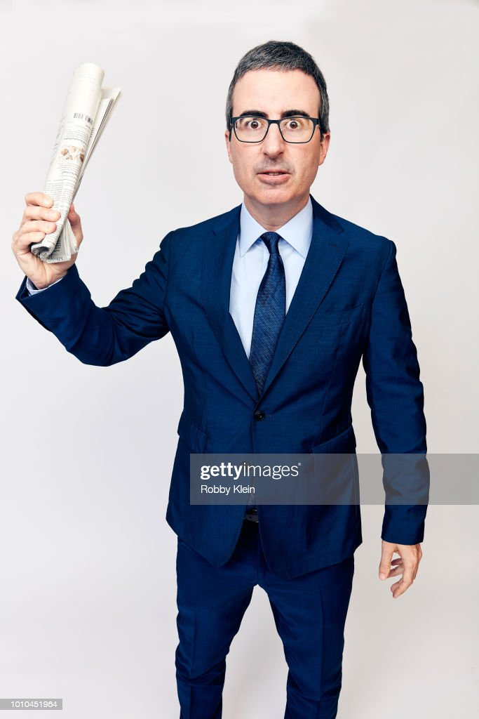 John Oliver of HBO's 'Last Week Tonight with John Oliver' poses for a portrait during the 2018 Summer Television Critics Association Press Tour at The Beverly Hilton Hotel on July 25, 2018 in Beverly Hills, California.