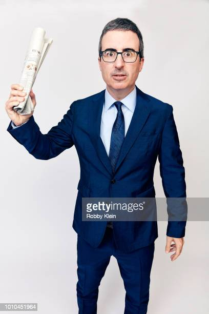 John Oliver of HBO's 'Last Week Tonight with John Oliver' poses for a portrait during the 2018 Summer Television Critics Association Press Tour at...