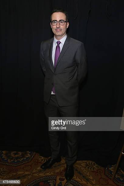 John Oliver poses during The 74th Annual Peabody Awards Ceremony at Cipriani Wall Street on May 31 2015 in New York City