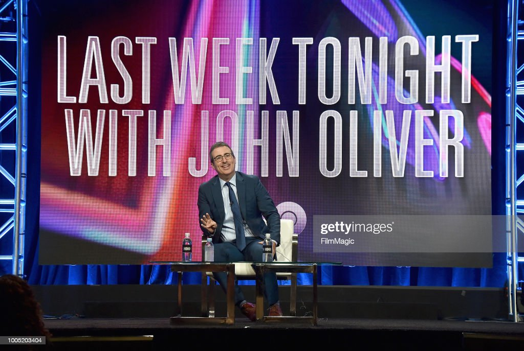 John Oliver speaks onstage at HBO Summer TCA 2018 at The Beverly Hilton Hotel on July 25, 2018 in Beverly Hills, California.