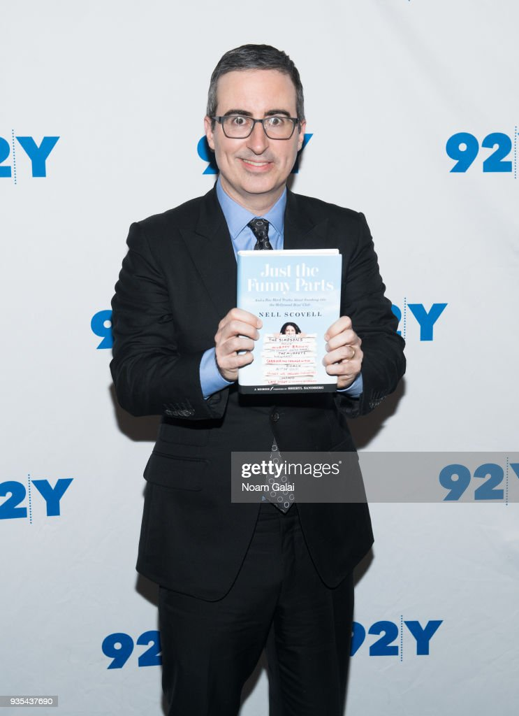 John Oliver visits 92nd Street Y on March 20, 2018 in New York City.