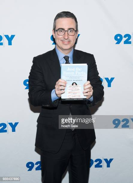 John Oliver visits 92nd Street Y on March 20 2018 in New York City