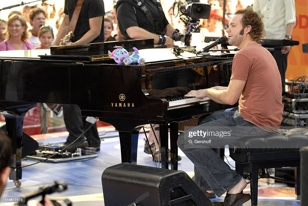 """Five for Fighting Performs on NBC's """"The Today Show"""" - August 1, 2006"""
