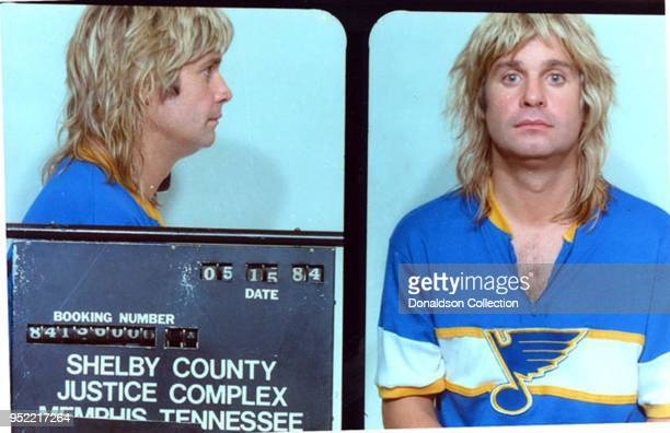 John Osbourne was arrested by Memphis cops in May 1984 and charged with public intoxication