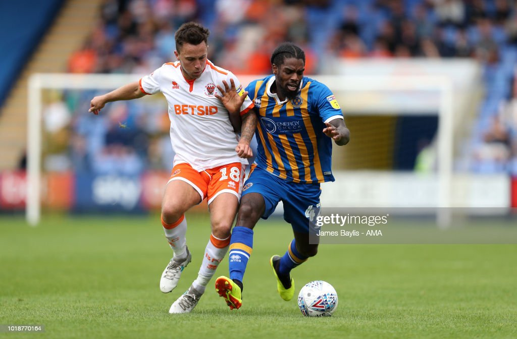 Shrewsbury Town v Blackpool - Sky Bet League One