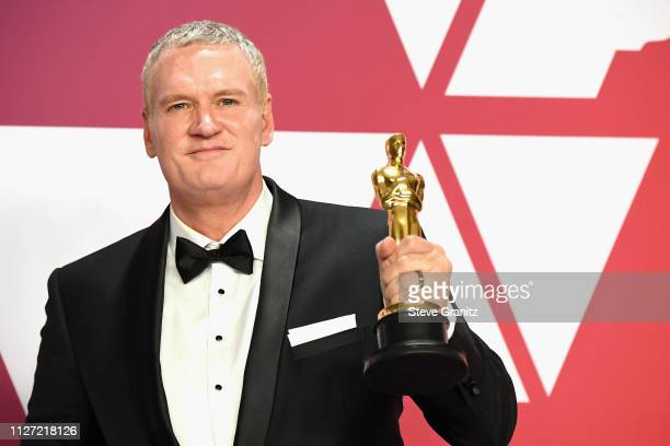 John Ottman winner Best Film Editing award for 'Bohemian Rhapsody' poses in the press room during at Hollywood and Highland on February 24 2019 in...