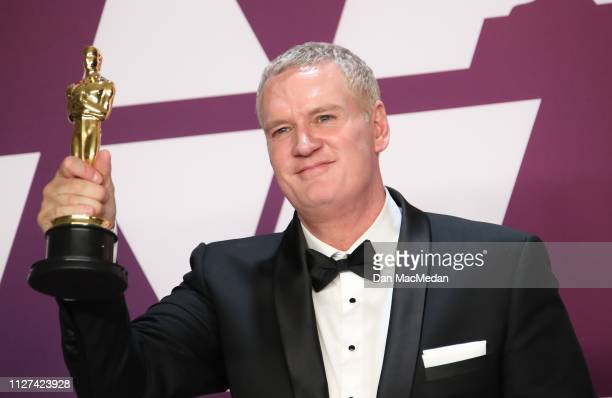 John Ottman winner of Best Film Editing for 'Bohemian Rhapsody' poses in the press room at the 91st Annual Academy Awards at Hollywood and Highland...