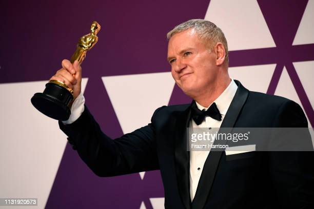 John Ottman winner of Best Film Editing for Bohemian Rhapsody poses in the press room during the 91st Annual Academy Awards at Hollywood and Highland...