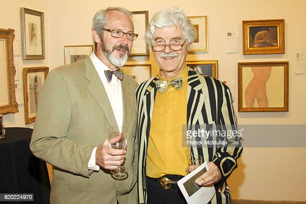 John Owen and Ludwig Kuttner attend NEW YORK ACADEMY OF ART Presents TAKE HOME A NUDE at Phillips De Pury Company on April 16 2008 in New York City