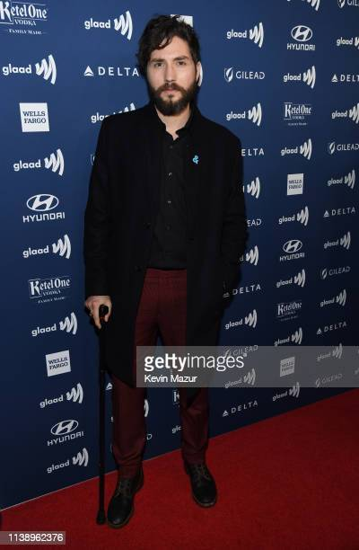 John Patrick Amedori attends the 30th Annual GLAAD Media Awards Los Angeles at The Beverly Hilton Hotel on March 28 2019 in Beverly Hills California