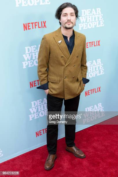 John Patrick Amedori attends the Dear White People Season 2 Special Screening on May 2 2018 in Hollywood California