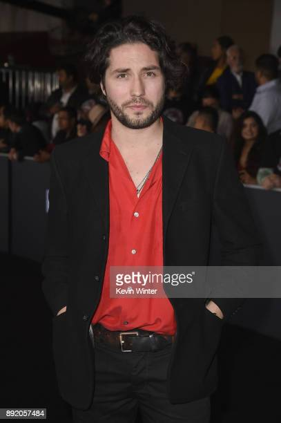 John Patrick Amedori attends the Premiere Of Netflix's 'Bright' at Regency Village Theatre on December 13 2017 in Westwood California