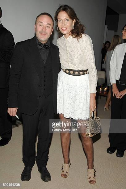 John Patrick and Jacqueline Schnabel attend CFDA/VOGUE Fashion Fund Awards at Skylight Studios on November 17 2008 in New York City