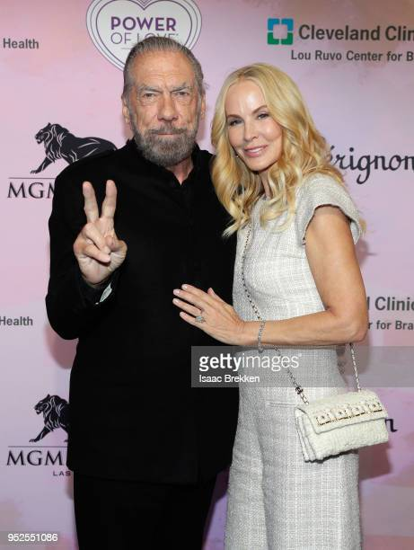 John Paul DeJoria and Eloise Broady attends the 22nd annual Keep Memory Alive 'Power of Love Gala' benefit for the Cleveland Clinic Lou Ruvo Center...