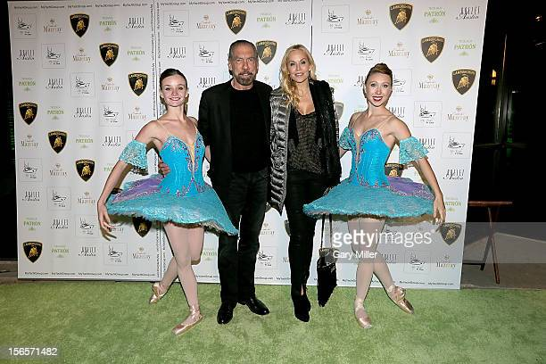 John Paul DeJoria and Eloise DeJoria attend the My Yacht F1 Club at Ballet Austin on November 16, 2012 in Austin, Texas.