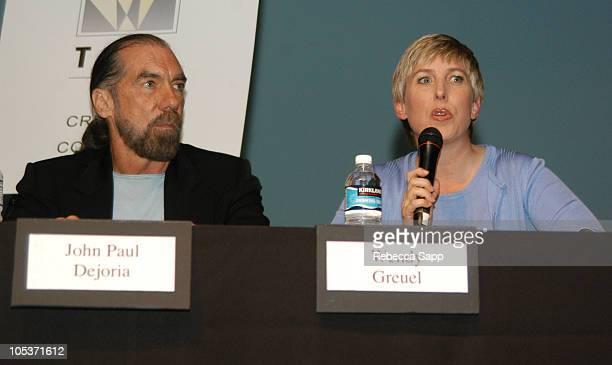 John Paul DeJoria and Los Angeles City Councilmember Wendy Greuel