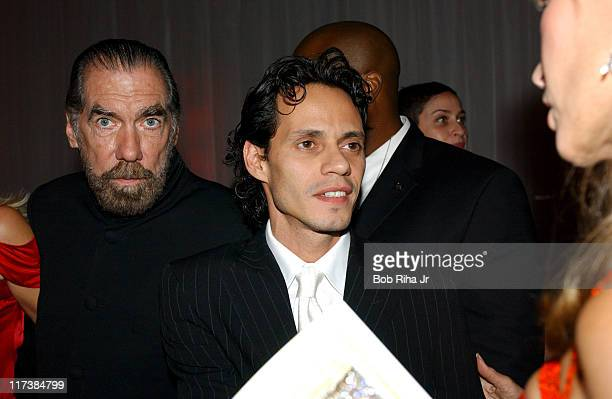 John Paul DeJoria and Marc Anthony in Beverly Hills Calif on Saturday Oct 2 2004 for the inaugural Noche de Nios Gala a starstudded benefit for...
