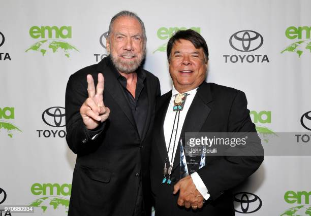 John Paul DeJoria and Oneida Nation Enterprises CEO Arthur Raymond Halbritter attend the Environmental Media Association 1st Annual Honors Benefit...