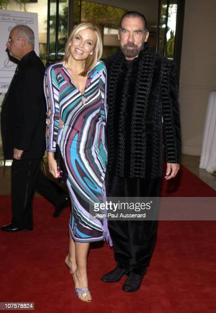 John Paul DeJoria and wife Eloise during Fourth Annual Hollywood Makeup Artists and Hairstylists Guild Awards at Beverly Hilton Hotel in Beverly...