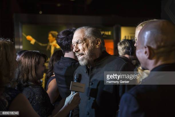 John Paul DeJoria arrives at the City Gala 2017 at Walt Disney Concert Hall on February 12 2017 in Los Angeles California