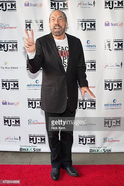 John Paul DeJoria arrives at the third Mack Jack McConaughey charity gala at ACL Live on April 16 2015 in Austin Texas