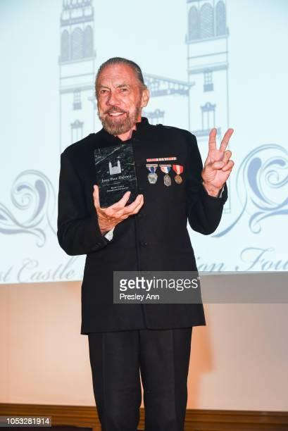 John Paul DeJoria attends Hearst Castle Preservation Foundation - Hollywood Royalty Dinner at Hearst Castle on September 28, 2018 in San Simeon, CA.