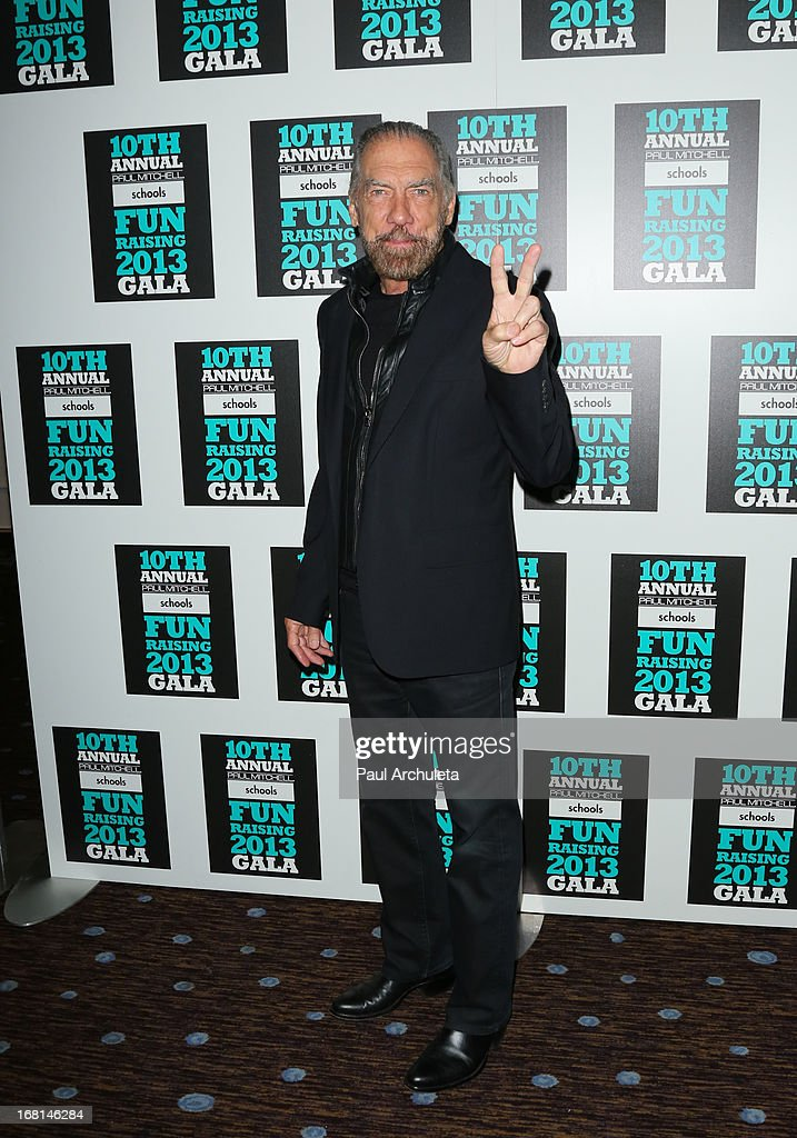 John Paul DeJoria attends the Paul Mitchell schools' 'FUNraising Campaign' gala at The Beverly Hilton Hotel on May 5, 2013 in Beverly Hills, California.