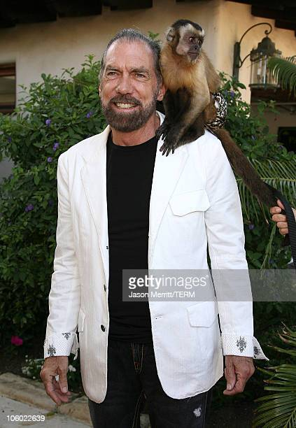 John Paul DeJoria during Bow Wow Ciao Benefit For Much Love Animal Rescue Arrivals at John Paul DeJoria and Eloise DeJoria Estate in Malibu...