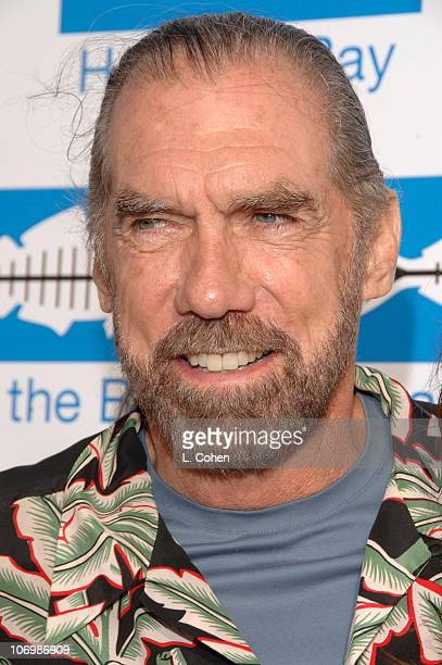 John Paul DeJoria during Heal the Bay Bring Back the Beach Arrivals at Barker Hanger in Santa Monica California United States