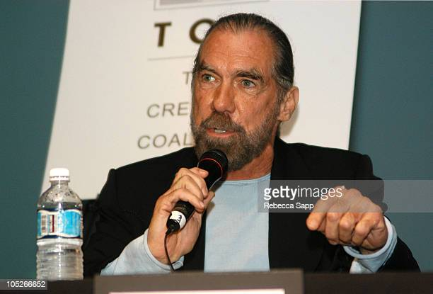 John Paul Dejoria during High Def Expo at Petersen Automotive Museum in Los Angeles California United States
