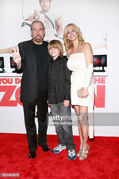 John Paul DeJoria John Anthony DeJoria and Eloise DeJoria attend Special Screening of You Don't Mess With The Zohan at Ziegfeld Theater on June 4...