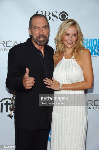John Paul DeJoria with his wife Eloise during Conde Nast Media Group Kicks Off New York Fall Fashion Week with 3rd Annual Fashion Rocks Concert at...
