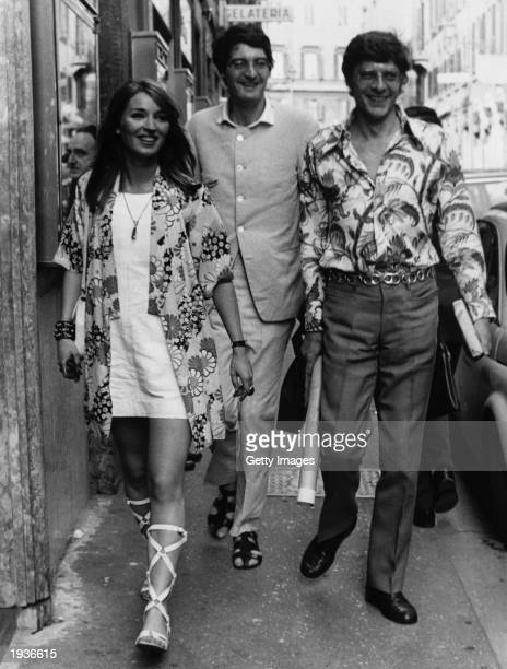 John Paul Getty Jr the son of petroleum multimillionaire John Paul Getty and his wife Talitha Pol at Via Condottie June 24 1968 in Rome ItalyGetty...