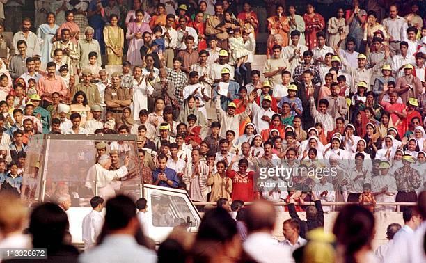 John Paul II In NewDelhiIndia On November 07th 1991