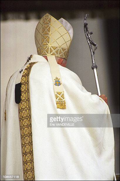 John Paul II in Rome Italy on February 02 2000