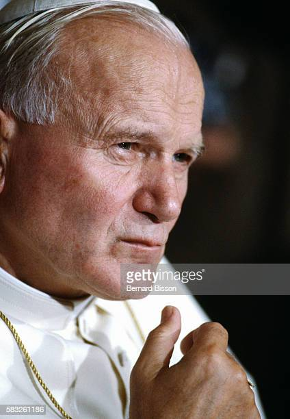 John Paul II is in Lyon during his third official visit to France