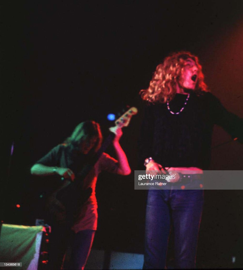 Led Zeppelin in Concert at Sports Arena - 6-23-1972