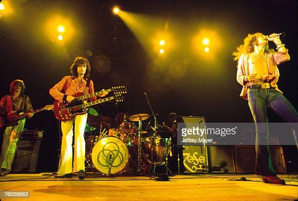 John Paul Jones Jimmy Page John Bonham and Robert Plant of Led Zeppelin
