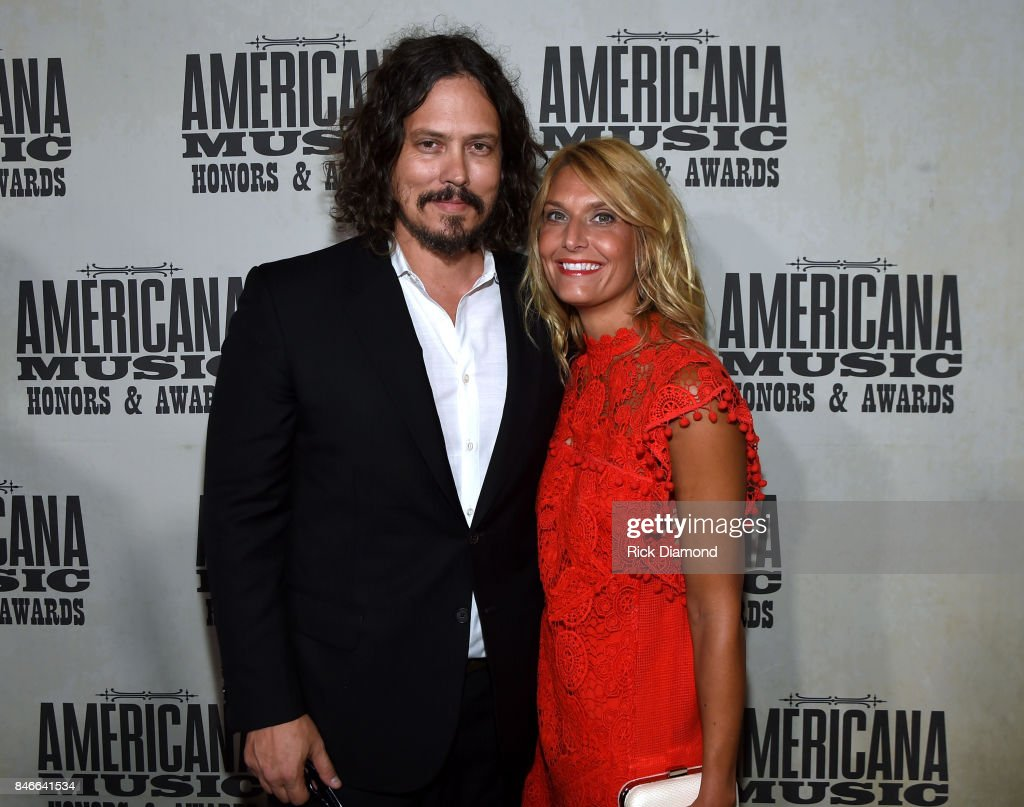 John Paul White and Jenny White attend the 2017 Americana Music Association Honors & Awards on September 13, 2017 in Nashville, Tennessee.