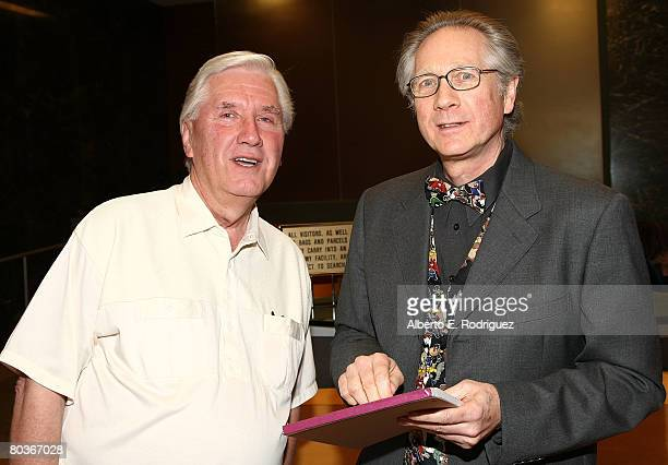 Animator Bob Givens and author Joe Adamson attend 'Putting Looney in the Toons' the Academy of Motion Picture Arts and Sciences' tribute to animators...