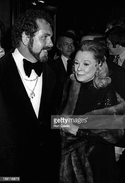 John Peterson and actress June Allyson attend the premiere of That's Entertainment on May 23 1974 in New York City