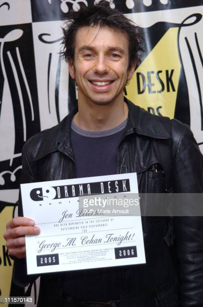 John Peterson of George M Cohen Tonight during 2006 Drama Desk Award Nominations at Arte Cafe in New York City New York United States