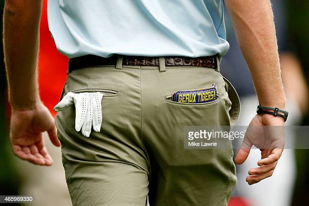John Peterson walks to the third tee during the first round of the Valspar Championship at Innisbrook Resort Copperhead Course on March 12 2015 in...