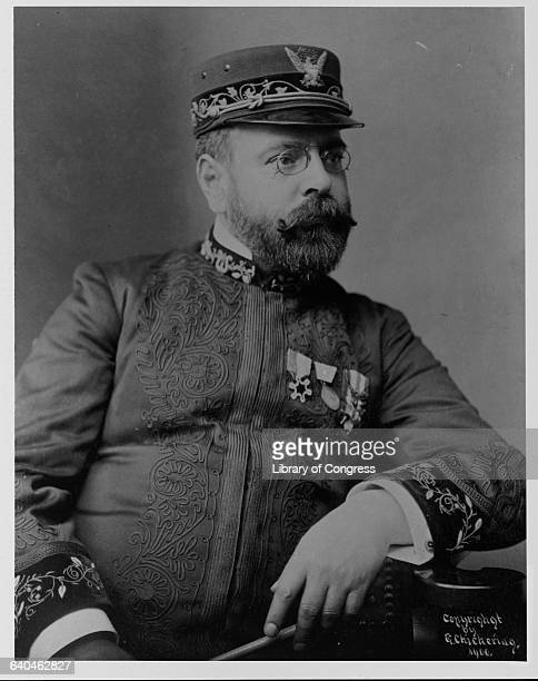 John Philip Sousa Wearing Band Uniform