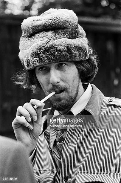 John Phillips of The Mamas The Papas backstage at the Monterey Pop Festival on June 18 1967 in Monterey California