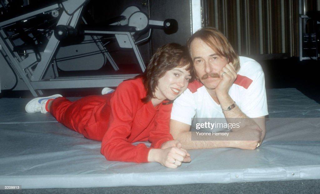 John And MacKenzie Phillips : News Photo