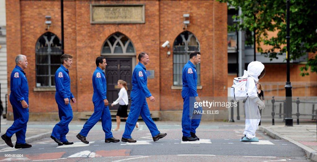 BRITAIN-SPACE-EDUCATION : News Photo