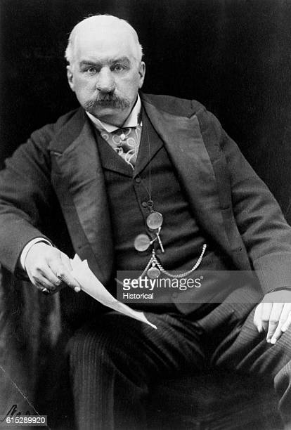 John Pierpont Morgan the American financier He was responsible for much industrial growth in the United States including the formation of the US...